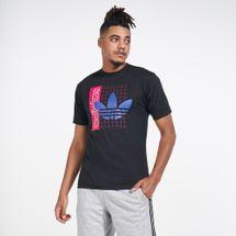 adidas Originals Men's Grid Trefoil T-Shirt