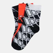 adidas Kids' Crew Socks (Older Kids) - 3 Pack