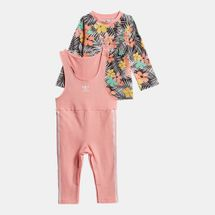 adidas Originals Kids' T-Shirt and Jumpsuit Set (Baby and Toddler)