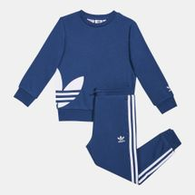 adidas Originals Kids' Big Trefoil Crew Tracksuit (Younger Kids)