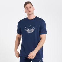 adidas Originals Men's Outline Trefoil T-Shirt