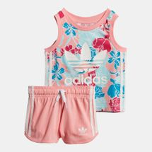 adidas Originals Kids' Tank Top and Shorts Set (Baby and Toddler)