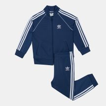 adidas Originals Kids' Superstar Track Suit (Baby and Toddler)