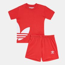 adidas Originals Kids' Big Trefoil T-Shirt and Shorts Set (Baby and Toddler)