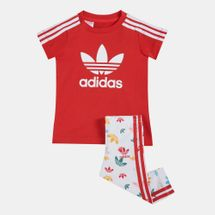 adidas Originals Kids' Tee Dress Set (Baby and Toddler)