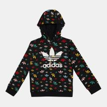 adidas Originals Kids' Allover Print Hoodie (Older Kids)