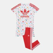 adidas Originals Kids' Tee Dress Set (Younger Kids)