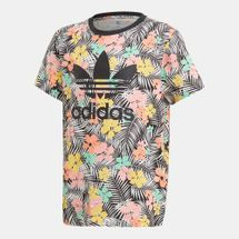 adidas Originals Kids' Floral Allover Print T-Shirt (Older Kids)
