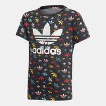 adidas Originals Kids' Trefoil Allover Print T-Shirt (Older Kids)