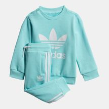 adidas Originals Kids' Crew Sweatshirt Set (Baby and Toddler)