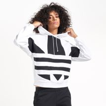 adidas Originals Women's Large Logo Hoodie