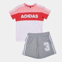adidas Kids' Graphic Track Suit (Younger Kids)