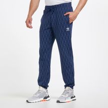 adidas Originals Men's Monogram Print Joggers