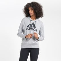 adidas Women's Badge of Sport Long Hoodie