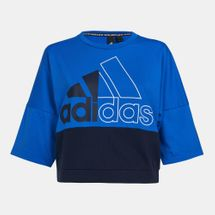 adidas Women's Must Haves Colourblocked T-Shirt