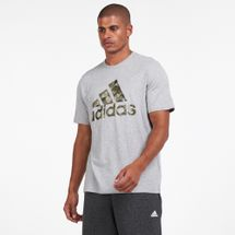 adidas Men's Continental Camo Graphic T-Shirt