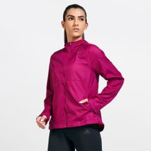 adidas Women's Own The Run Hooded Wind Jacket