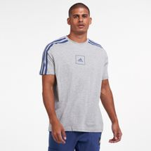 adidas Men's 3-Stripes Tape T-Shirt