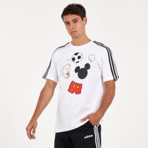 adidas Men's X Disney Mickey Mouse Football T-Shirt