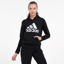 adidas Women's Badge of Sport Fleece Hoodie