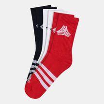 adidas Football Street 3-Stripes Socks (3 Pack)
