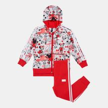 adidas Kids' X Disney Minnie Mouse Jacket and Joggers Set (Baby and Toddler)