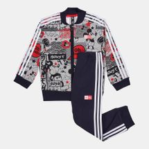 adidas Kids' X Disney Mickey Mouse Jacket and Joggers Set (Baby and Toddler)