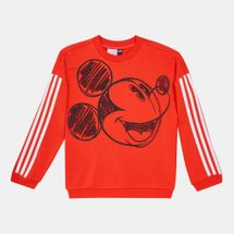 adidas Kids' Mickey Mouse Crew Sweatshirt (Younger Kids)