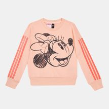 adidas Kids' Minnie Mouse Crew Sweatshirt (Younger Kids)