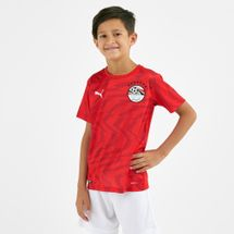 PUMA Kids' Egypt Home 2019 Replica Football T-Shirt (Older Kids)