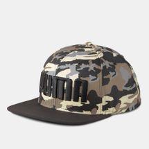 PUMA Men's Camo Flatbrim Cap