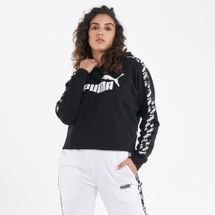 PUMA Women's Amplified Cropped Hoodie