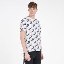 PUMA Men's Amplified Allover Print T-Shirt