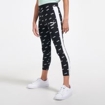 PUMA Kids' Classics Graphics Leggings