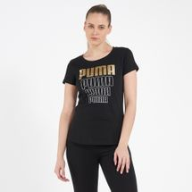 PUMA Women's Rebel Graphic T-Shirt