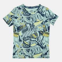 PUMA Kids' Alpha Allover Print T-Shirt (Older Kids)