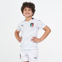 PUMA Kids' Italy Away Jersey - 2020/21 (Older Kids)