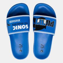 PUMA Kids' X SEGA Sonic Leadcat Slides (Older Kids)