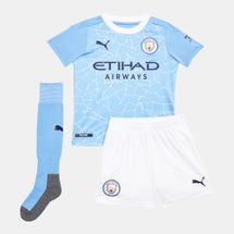 PUMA Kids' Manchester City F.C. Home Kit - 2020/21 (Younger Kids)