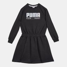 فستان الفا بأكمام طويلة من بوما للاطفال الكبار