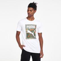 PUMA Men's Classics Graphics Logo T-Shirt