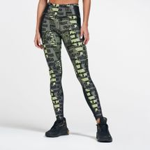 PUMA Women's Be Bold All Over Print 7/8 Leggings