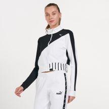 PUMA Women's Train Stretch Knit Track Jacket
