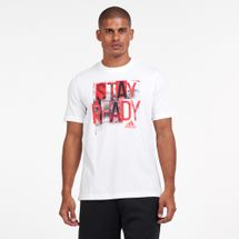 adidas Men's AEROREADY Graphics T-Shirt
