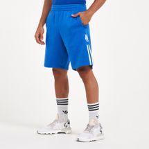 adidas Originals Men's 3D Trefoil 3-Stripes Sweat Shorts
