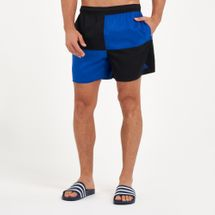 adidas Men's Colourblock Short Length Swim Shorts