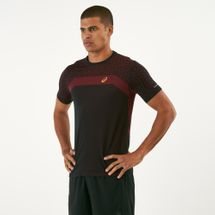 Asics Men's Seamless Textured T-Shirt