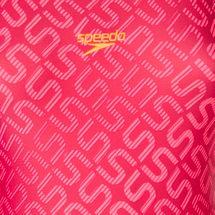 Speedo Monogram Allover Muscleback Swimsuit, 188168