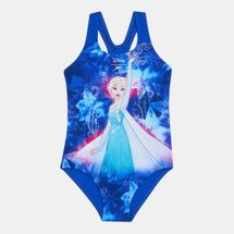 Speedo Kids' Disney Frozen Digital Placement One Piece Swimsuit (Younger Kids)