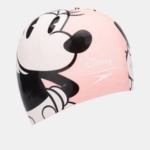 Speedo Disney Minnie Mouse Print Swimming Cap